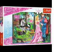 13223 200 - Spotkanie w lesie / Disney Princess, Puzzle, Zabawki