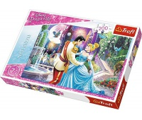 13224 200 -Taniec w świetle księżyca / Disney Princess, Puzzle, Zabawki