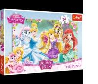 14223 24 Maxi - Odpoczynek w ogrodzie / Disney Princess, Puzzle, Zabawki