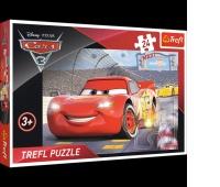 14250 24 Maxi - Mistrz / Disney Cars 3, Puzzle, Zabawki