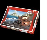 15196 160 - Złomek i Finn / Disney Cars, Puzzle, Zabawki