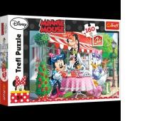 15298 160 - W kawiarani / Disney Minnie, Puzzle, Zabawki