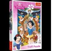 15299 160 - Królewna Śnieżka - kolaż / Disney Princess, Puzzle, Zabawki