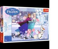 15317 160 - Jazda na łyżwach / Disney Frozen, Puzzle, Zabawki