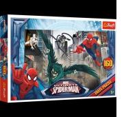 15319 160 - W pogoni za złoczyńcą / Disney Marvel Spiderman, Puzzle, Zabawki