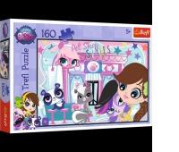 15326 160 - Razem weselej / Hasbro, Littlest Pet Shop, Puzzle, Zabawki
