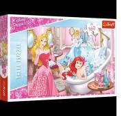 15327 160 - Odpoczynek przed balem / Disney Princess, Puzzle, Zabawki
