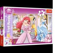 16186 100 - Przygotowania do balu / Disney Princess, Puzzle, Zabawki