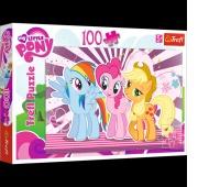 16228 100 - Przyjaciółki / Hasbro, My Little Pony, Puzzle, Zabawki