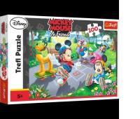 16249 100 - Na rolkach / Disney Standard Characters, Puzzle, Zabawki