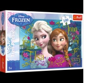 16255 100 - Anna i Elsa / Disney Frozen, Puzzle, Zabawki