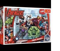 16272 100 - Do ataku / Disney Marvel The Avengers, Puzzle, Zabawki