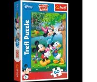 17198 60 - Piknik z Donaldem / Disney Standard, Puzzle, Zabawki