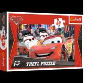 17211 60 - Tokio / Disney Cars, Puzzle, Zabawki