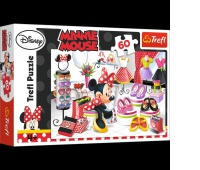 17225 60 - Zakupowe szleństwa Minnie / Disney Minnie, Puzzle, Zabawki