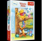 17264 60 - Małe co nieco / Disney Winnie the Pooh, Puzzle, Zabawki