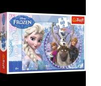 17275 60 - Przyjaciele z Krainy Lodu / Disney Frozen, Puzzle, Zabawki