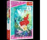 17283 60 - Arielka i jej przyjaciele / Disney Princess, Puzzle, Zabawki