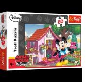 17285 60 - Miki i Minnie w ogrodzie / Disney Standard Characters, Puzzle, Zabawki