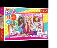 17295 60 - Barbie i przyjaciółki / Mattel, Barbie, Puzzle, Zabawki