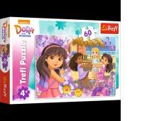 17296 60 - Taniec i muzyka / Viacom Dora and Friends, Puzzle, Zabawki