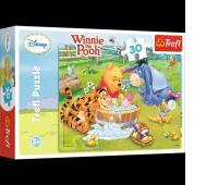 18198 30 - Kąpiel Prosiaczka / Disney Winnie the Pooh, Puzzle, Zabawki