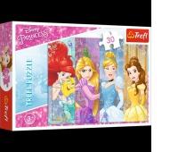18205 30 - Bajkowe księżniczki / Disney Princess, Puzzle, Zabawki