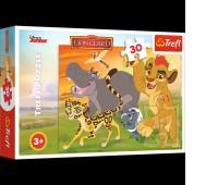 18210 30 - Wesoło naprzód / Disney Lion Guard, Puzzle, Zabawki