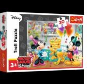 18211 30 - Tort urodzinowy / Disney Standard Characters, Puzzle, Zabawki