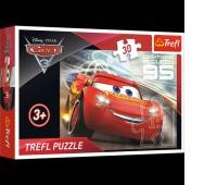 18215 30 - Zygzak McQueen / Disney Cars 3, Puzzle, Zabawki
