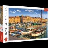 26130 1500 - Stary Port w Saint Tropez / MGL - bez tantiem, Puzzle, Zabawki
