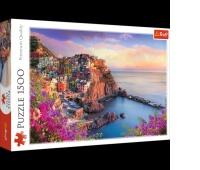 26137 1500 - Widok na miasteczko Manarola / 500px_L, Puzzle, Zabawki