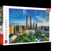 27075 2000 - Petronas Twin Towers / Getty Images_L, Puzzle, Zabawki