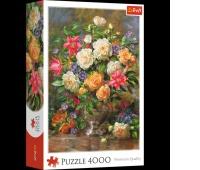 45003 4000 - Kwiaty dla Królowej Elżbiety / Bridgeman_L, Puzzle, Zabawki