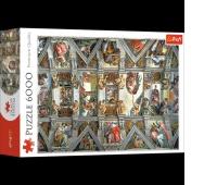 65000 6000 - Sklepienie Kaplicy Sykstyńskiej / Bridgeman_L, Puzzle, Zabawki