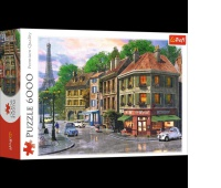 65001 6000 - Uliczka Paryża / MGL, Puzzle, Zabawki