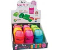 BERRY gumka + temp. 2 otw. x9 DISPLAY kolor MIX, Zestawy, Artykuły do pisania i korygowania