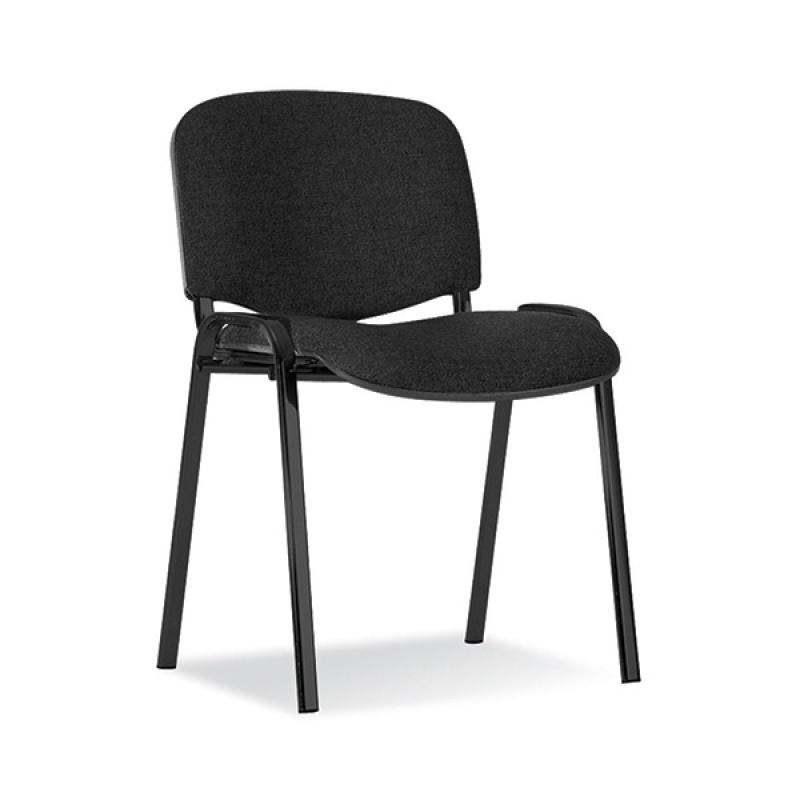 Krzesło konferencyjne OFFICE PRODUCTS Kos Premium, czarne, Krzesła i fotele, Wyposażenie biura