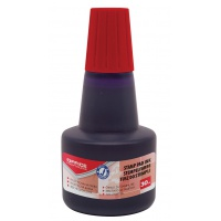 Stamp Ink OFFFICE PRODUCTS, 30ml, red