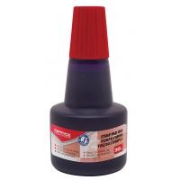 Tusz do pieczątek OFFFICE PRODUCTS, 30ml, czerwony, Tusze, Drobne akcesoria biurowe