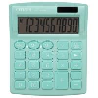 Kalkulator biurowy CITIZEN SDC-810NRGRE, 10-cyfrowy, 127x105mm, zielony, Kalkulatory, Urządzenia i maszyny biurowe