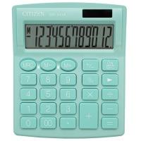 Kalkulator biurowy CITIZEN SDC-812NRGRE, 12-cyfrowy, 127x105mm, zielony, Kalkulatory, Urządzenia i maszyny biurowe