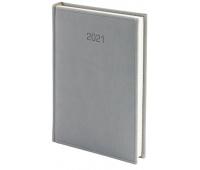 Kalendarz A4 dzienny Vivella, szary, Kalendarze, Wyposażenie biura