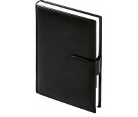 Kalendarz B5 dzienny Nebraska na magnes, czarny, Kalendarze, Wyposażenie biura