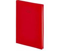 Kalendarz B5 tygodniowy Vivella, czerwony, Kalendarze, Wyposażenie biura