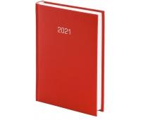 Kalendarz A5 tygodniowy Albit, czerwony, Kalendarze, Wyposażenie biura