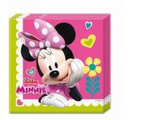 """Serwetki """"Minnie Happy Helpers"""" 33x33 cm, 20 szt., Naczynia jednorazowe i serwetki, Artykuły higieniczne i dozowniki"""