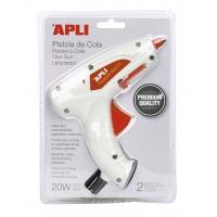 Pistolet Premium do kleju termotopliwego APLI, 20W, Kleje, Drobne akcesoria biurowe