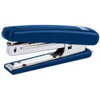 Zszywacz ICO Boxer Mini, zszywa do 10 kartek, zintegrowany rozszywacz, niebieski, Zszywacze, Drobne akcesoria biurowe