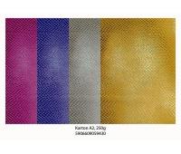 Karton A2 220gr. brokat - metaliza Mix - 3, Brystole, kartony, Papier i etykiety